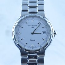 浪琴 (Longines) Conquest Herren Uhr Quartz Stahl/stahl Rar Top...