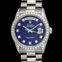 Ρολεξ (Rolex) Day-date 18296 In Platinum Original Diamond...