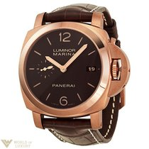 Panerai Luminor 1950 Automatic 18K Red Gold Men`s Watch
