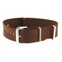 Rolex Brown Textile Strap For Rolex Datejust & Sport Models