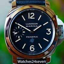 파네라이 (Panerai) PAM 631 Luminor Marina Blue Logo Acciaio 44mm