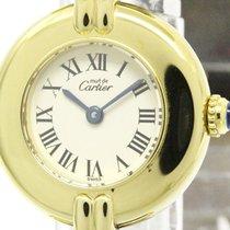 カルティエ (Cartier) Polished Cartier Must Vermeil Gold Plated...