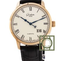 Glashütte Original Senator Panorama Date 40mm White Dial Pink...