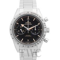 Omega Speedmaster '57 Chronograph Black Steel 41.5mm -...
