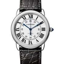 Cartier WSRN0013 Ronde Solo Automatic - Steel on Strap with...