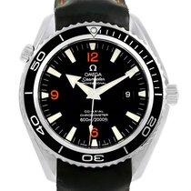 Omega Seamaster Planet Ocean Xl Orange Numbers Mens Watch...