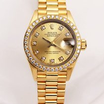 Rolex Lady DateJust 69138 18K Yellow Gold