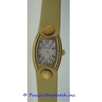 DeLaneau First Lady Gold Diamond Watch