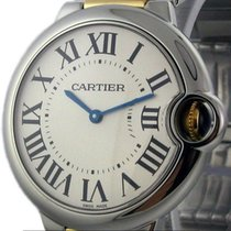Cartier Ballon Bleu Collection Mid-Size 36mm Steel & Gold...