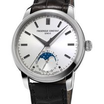 Frederique Constant Classic Manufacture Moonphase Stahl
