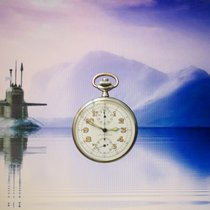 Leonidas TAG HEUER SILBER 800 2.WK MILITARY MARINE U-BOAT...