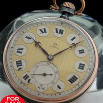Omega Amazing Omega Pocket Watch in Art Deco Style