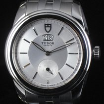 Tudor Glamour Double Date 57000 Steel Automatic Full Set