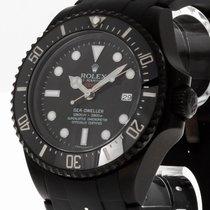 Rolex Sea Dweller Deepsea Stahl DLC Rubber Band Ref.116660