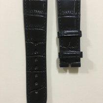 Zenith Brillant Black Alligator Strap 23 - 18 mm