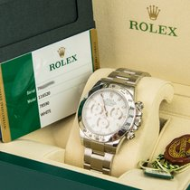 Rolex Daytona White Dial 2015 Unworn w/ Box & Papers 116520