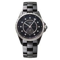 Chanel J12-365 Black Ceramic & Steel, Diamond Indicators