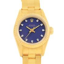 ロレックス (Rolex) President No-date 18k Yellow Gold Diamond Ladies...