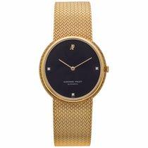 Audemars Piguet gold wristwatch with original box and certificate