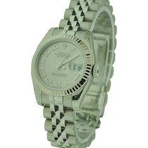 Rolex Unworn 179174 Ladies Datejust 26mm with Silver Roman...