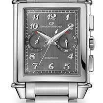 Girard Perregaux VINTAGE 1945 XXL CHRONOGRAPH Steel Bracelet...