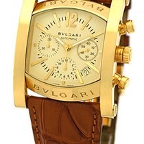 "Bulgari Gent's 18K Yellow Gold  ""Assioma"" Chronogr..."