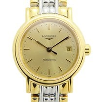 Longines Presence Stainless Steel Gold Automatic L4.321.2.32.7