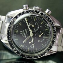 Omega 41mm Speedmaster Chronograph 145.022-71ST Watch on Moon...