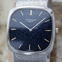 Patek Philippe 18k White Gold 1970 Unisex Swiss Made Luxury...