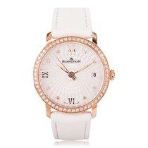Blancpain Women Ultra-Slim Diamond Ladies Watch 6604-2944-55