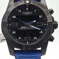 Breitling Professional Exospace B55 Black Titanium On Rubber...
