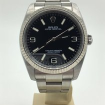 Rolex OYSTER PERPETUAL 116034 BLACK DIAL