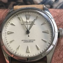 Rolex Bubbleback 6285 with White Honeycomb Dial