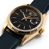 Ρολεξ (Rolex) 18K Yellow Gold 36mm Day-Date President Black...