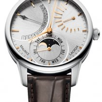 Maurice Lacroix Masterpiece Lune Retrograde MP6528-SS001-130-2