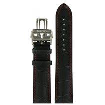 Mido Commander Lederband 22mm mit Schließe M600014800