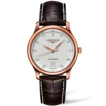 Longines Master Collection Automatic 18k Solid Gold Men's...