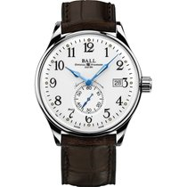 Ball Trainmaster Standard Time Chronometer NM3888D-LL1CJ-WH