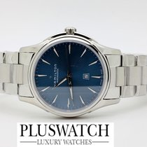 Hamilton Jazzmaster Viewmatic Auto Blue Dial 34mm T