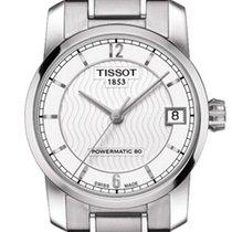 Tissot Titanium Automatic Lady Silver Dial 32mm T