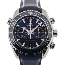 Omega Seamaster Planet Ocean 46 Chronograph Blue Strap