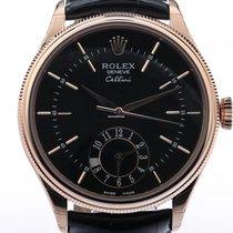 Rolex CELLINI DUAL TIME 18 KARAT EVEROSEGOLD