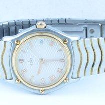 Ebel Classiv Wave Damen Uhr 28mm Stahl/ 750 Gold Klassische...