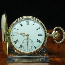 14kt 585 Gold Savonette Sprungdeckel Taschenuhr