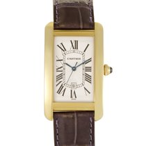 Certified Pre-Owned Cartier Tank Americaine Mens Automatic...