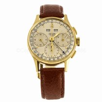 TAG Heuer Vintage Heuer Dato-Compax Triple Calendar 18K Gold...
