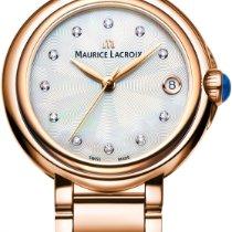 Maurice Lacroix Fiaba Round FA1004-PVP06-170-1 Damenarmbanduhr...