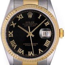Rolex Datejust Steel & Gold Men's 2-Tone Watch 16233...
