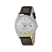 Hamilton JAZZMASTER VIEWMATIC AUTO White-Brown Leather H-32515555