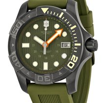 Victorinox Swiss Army Diver Master 500 PVD Steel Mens Watch...